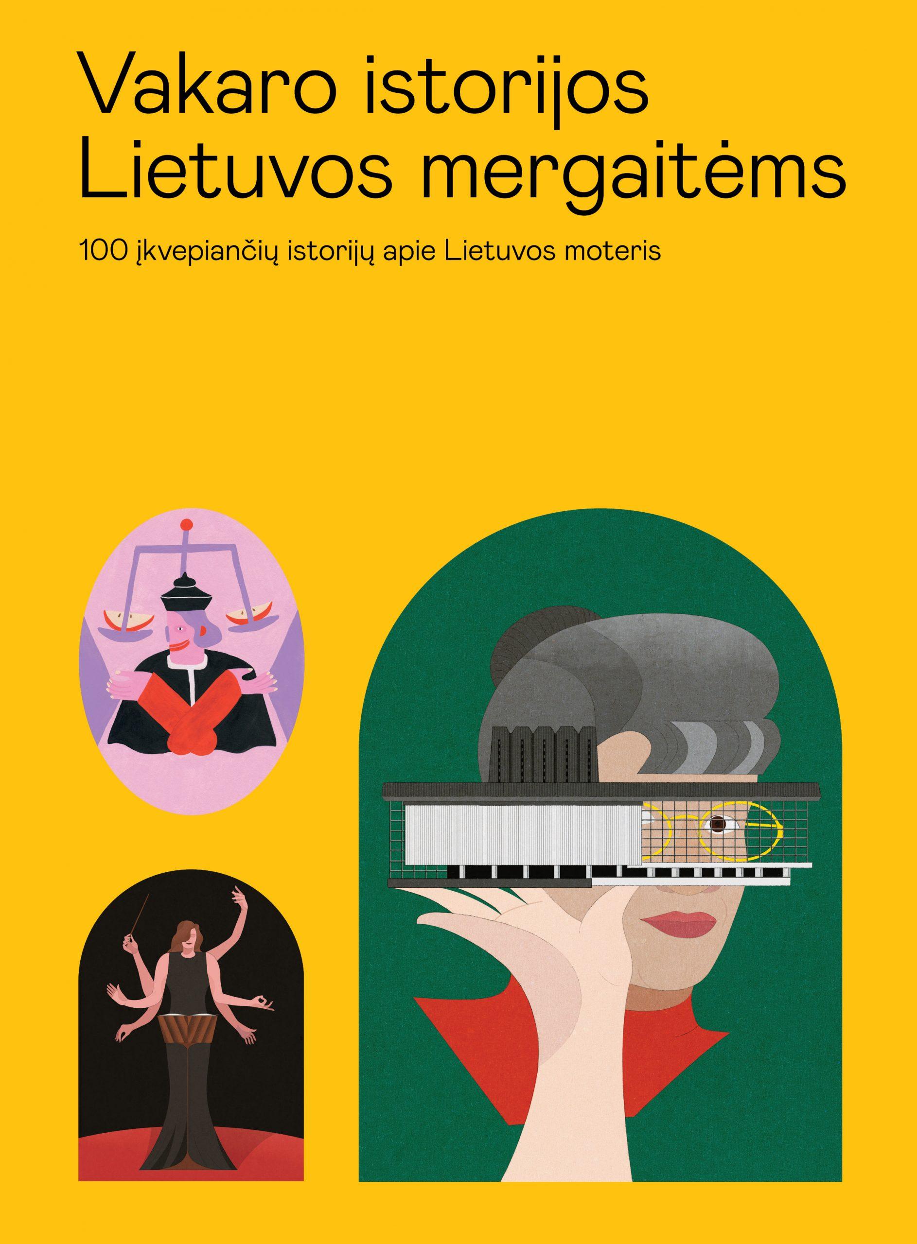 Vakaro istorijos Lietuvos mergaitėms - viršelis
